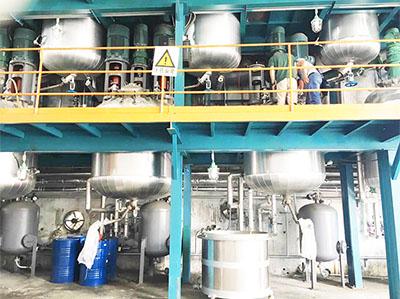 奥纳工厂生产设备